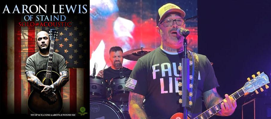 Aaron Lewis at Hard Rock Hotel and Casino