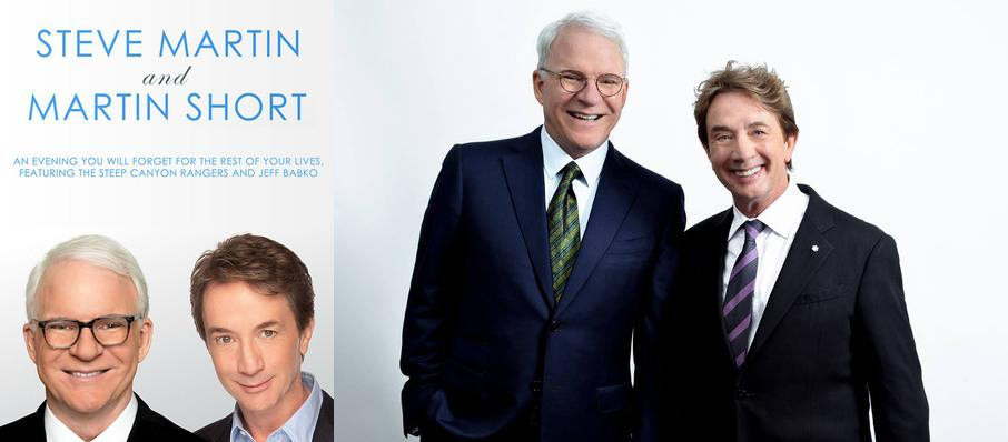 Steve Martin, Martin Short, and The Steep Canyon Rangers at Orpheum Theater