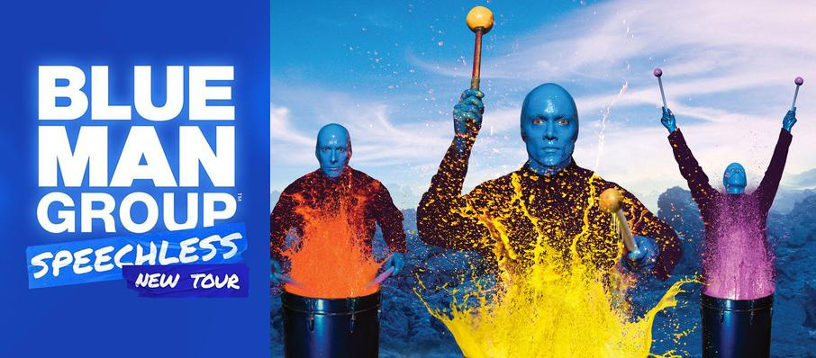 Blue Man Group at Orpheum Theater