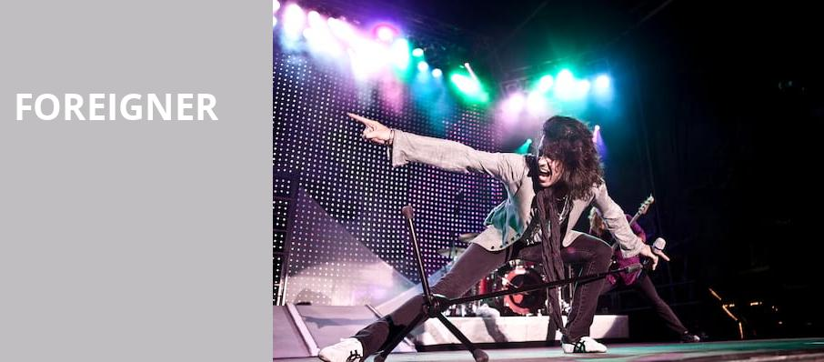 Foreigner, Orpheum Theater, Sioux City