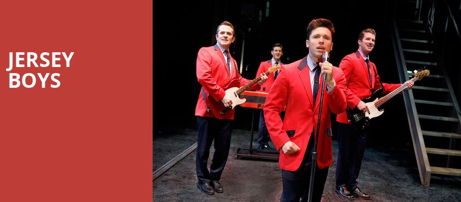 Jersey Boys, Orpheum Theater, Sioux City