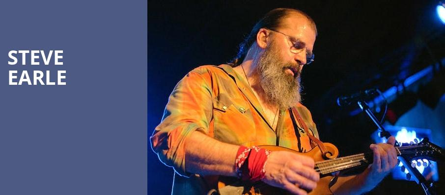 Steve Earle, Hard Rock Hotel and Casino, Sioux City