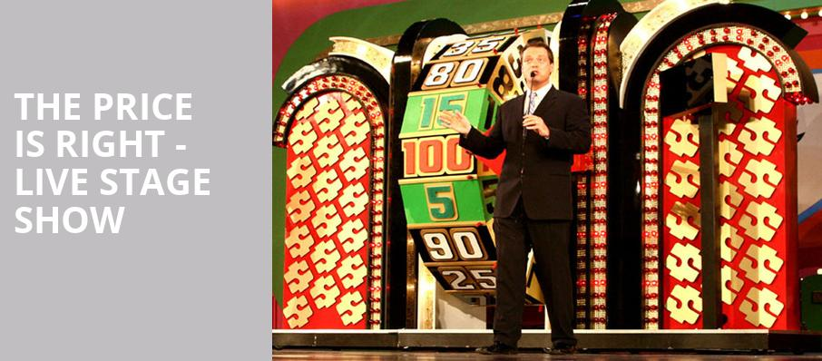 The Price Is Right Live Stage Show, Orpheum Theater, Sioux City