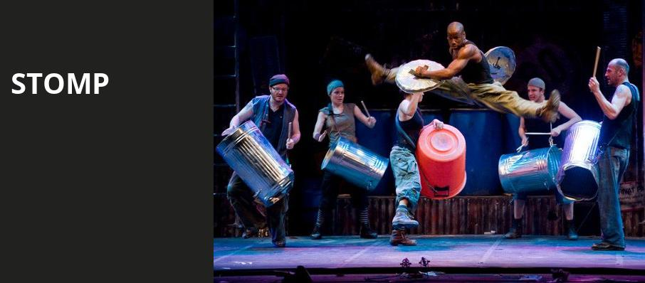 Stomp, Orpheum Theater, Sioux City
